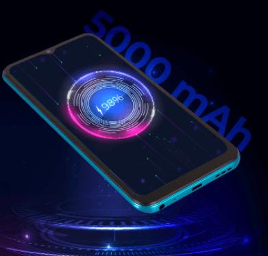 Batería de 5000 mAh de larga duración