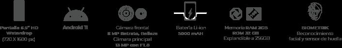 Kalley Silver Pro smartphone 720px medidas