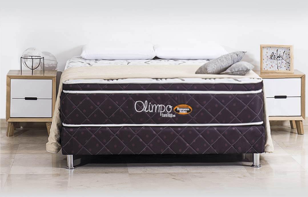 colchón romance relax eurotop olimpo
