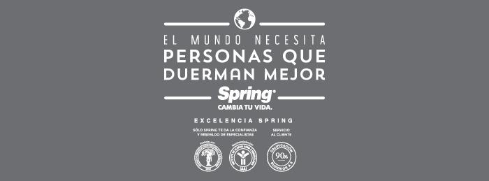 banner Spring excelencia