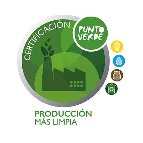 certificación punto verde