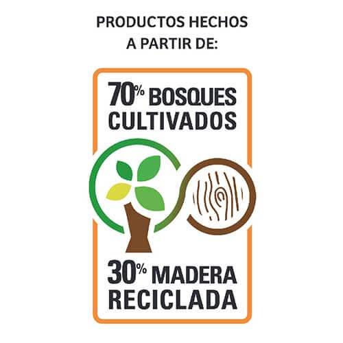 70% bosques cultivados closet