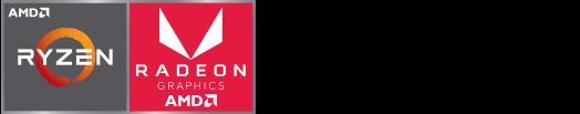 Logos Ryzen-Radeon