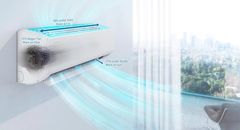 Aires Samsung Wind Free Alkosto