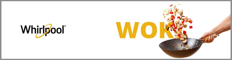 Cubiertas Whirlpool 7501545596018 con capacidad para 5 puestos. Perillas de control.