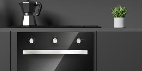 Horno Whirlpool 7501545613500 de un aspecto destacado de color negro que se adapta mejor a los diferentes estilos de cocinas.