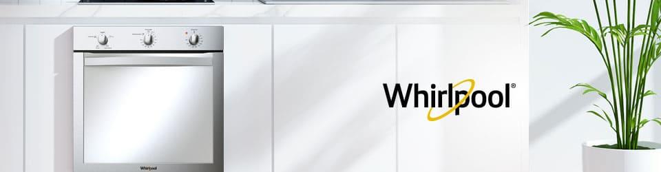 Horno Whirlpool 7501545626333 Detalle del panel de control con pantalla táctil que muestra las opciones, tiempo de cocción y features adicionales, además de la opción de encendido.