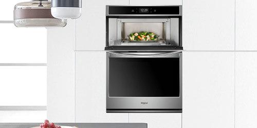 Torre de Hornos con horno microondas Whirlpool 883049444963 Opción de absorción en anaqueles para verduras para eliminar el gas etileno y evitar maduración precóz de los alimentos. Produce Preserver.
