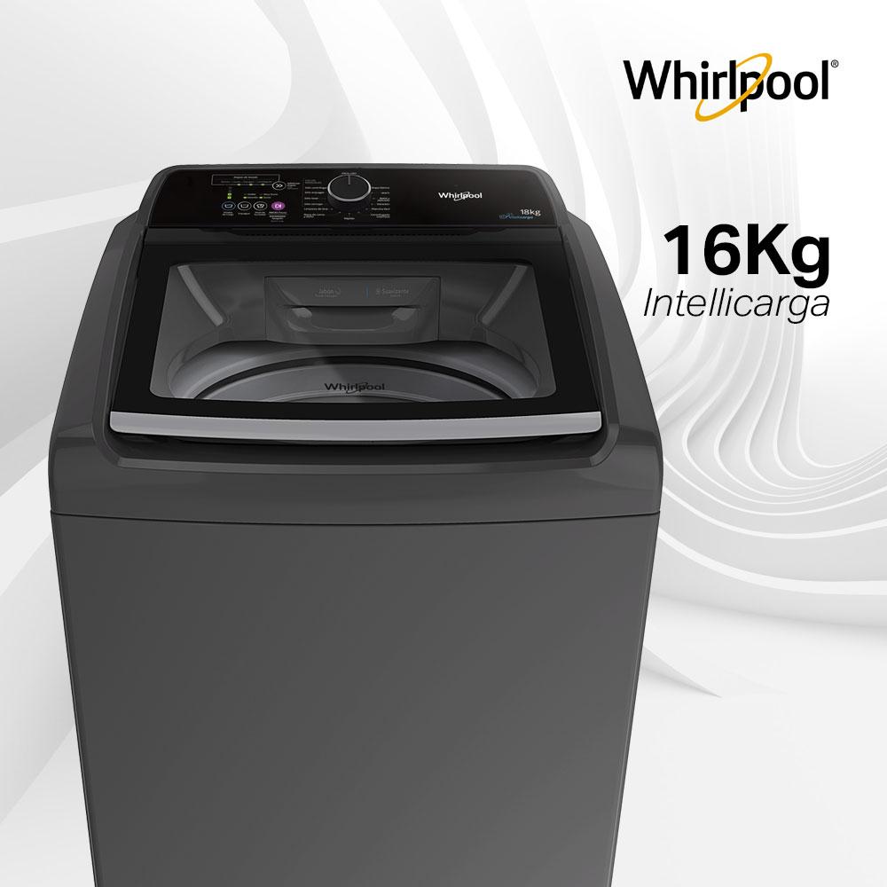 Lavadoras Whirlpool 7709921346671 10 ciclos automáticos y 16 kg de capacidad.