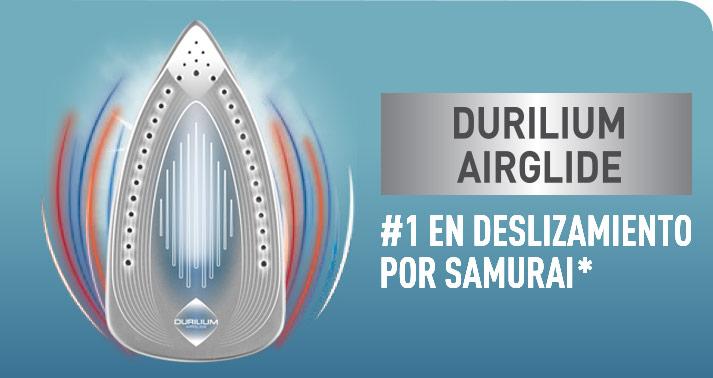 Samurai, líder en deslizamiento con Durilium Air Glide