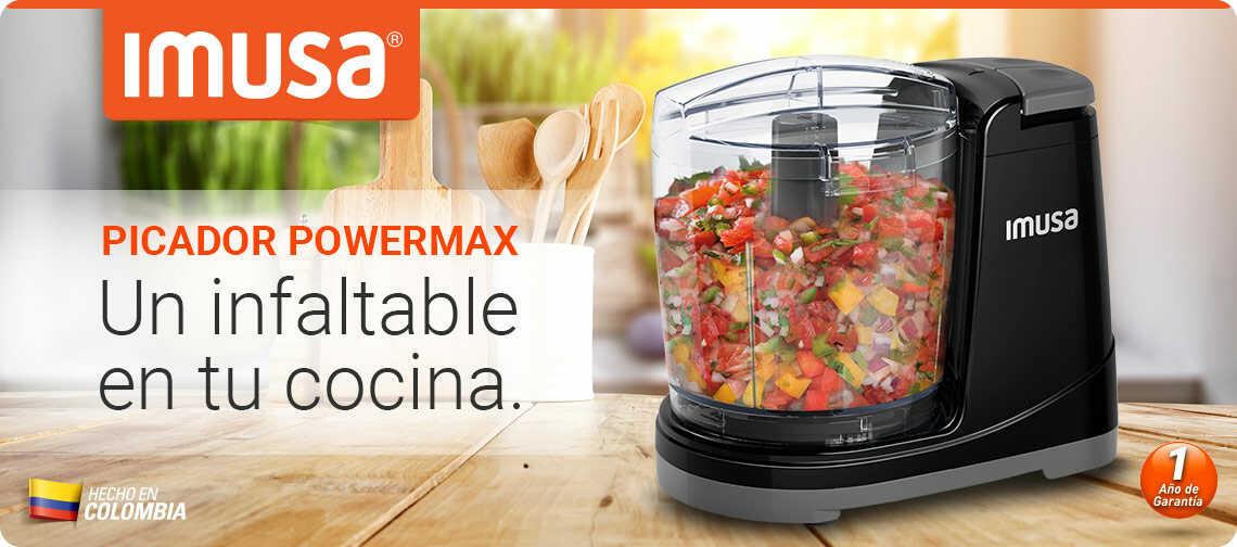 No te puede faltar el Picatodo Power Max de Imusa en tu cocina