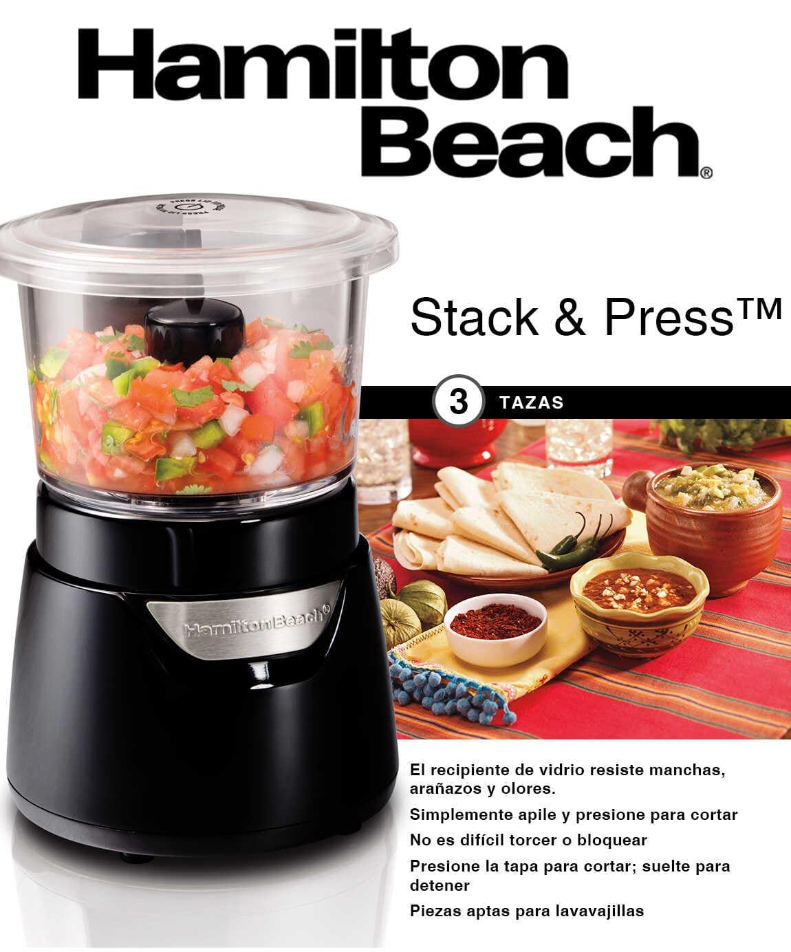 Stack and press 3 tazas