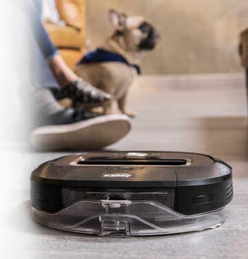 Fondo aspiradora automatica robot wifi Kalley