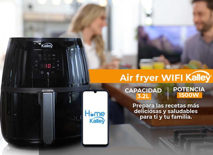 Freidora de Aire KALLEY Wifi K-MAFW Negro