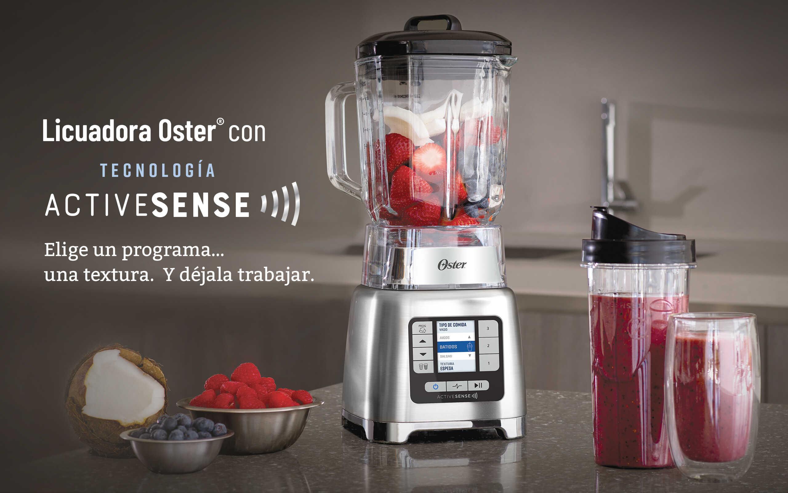 Licuadora OSTER ActiveSense™+Blend N Go BLSTTDGRBG Rojo