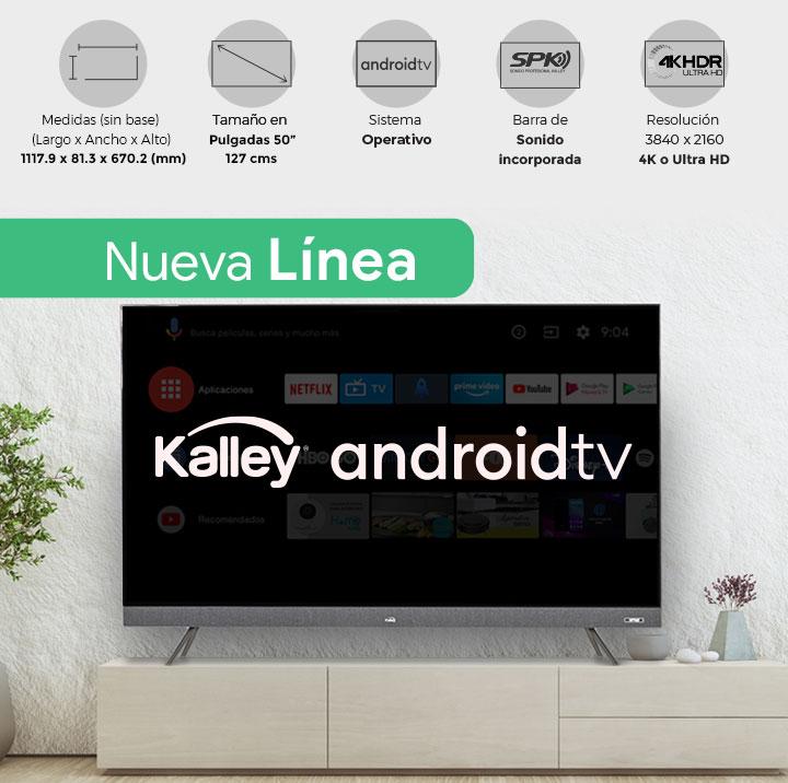 Televisor Kalley android
