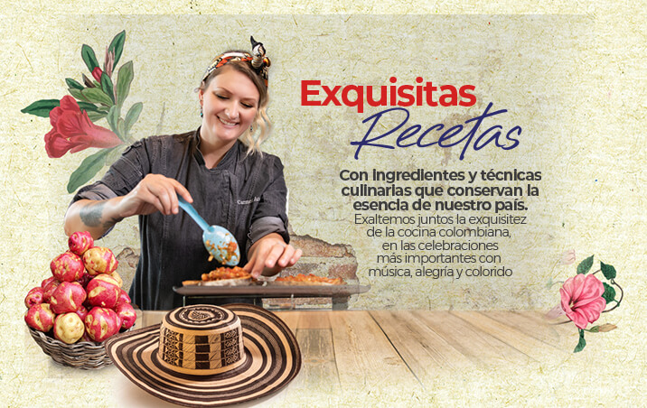 Kalley es Colombia Exquisitas recetas
