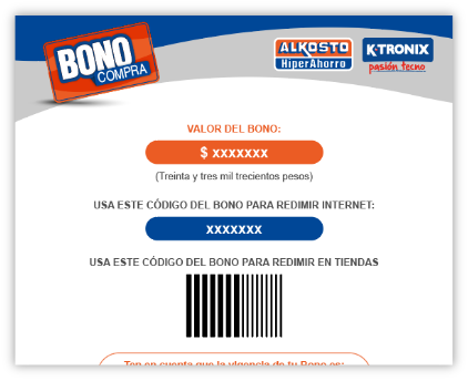 Bono Compra