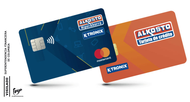 Tarjeta Alkosto/Ktronix